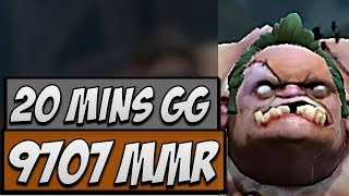 Dota 2 Gameplay - Ana 9.7K Pudge in a 20-minute GG Match thumbnail