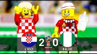 LEGO World Cup 2018 CROATIA Vs NIGERIA