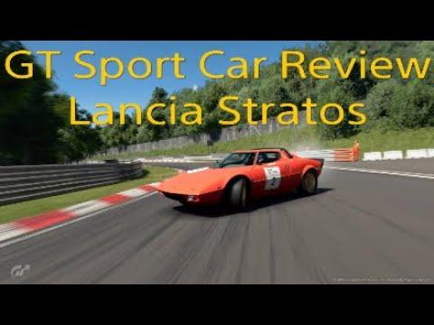 GT Sport Car Review - Lancia Stratos