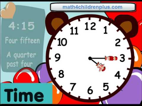 Time Worksheets time worksheets to the nearest 15 minutes : Telling time fifteen minutes or quater past the hour - Fun clocks ...