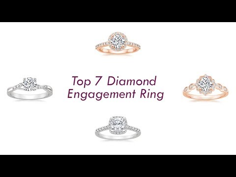 Top 7 Diamond Engagement Ring 2017 | Diamond Ring | Engagement Ring | Top 7 Best 7