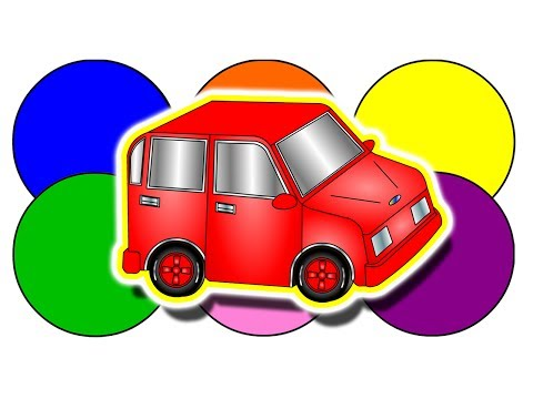 """The Color Game"" - Learn Colors, Teach Colours, Kids English Learning, ESL, EFL, Kindergarten Lesson"