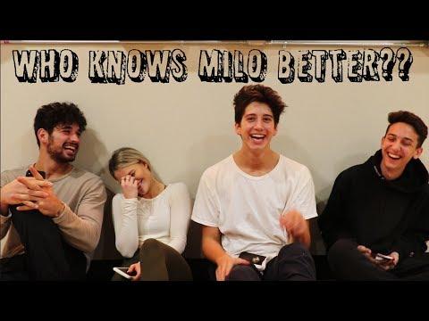 WHO KNOWS MILO BETTER!?(w/ Milo Manheim, Witney Carson, Alan Bersten, And Mason Turner)