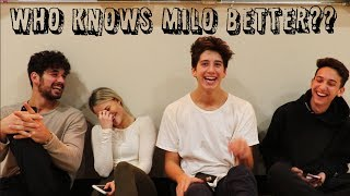 WHO KNOWS MILO BETTER!?(w/ Milo Manheim, Witney Carson, Alan Bersten, and Mason Turner)