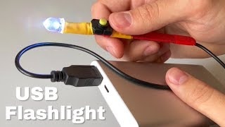 Great idea | How to Make USB LED Light at Home