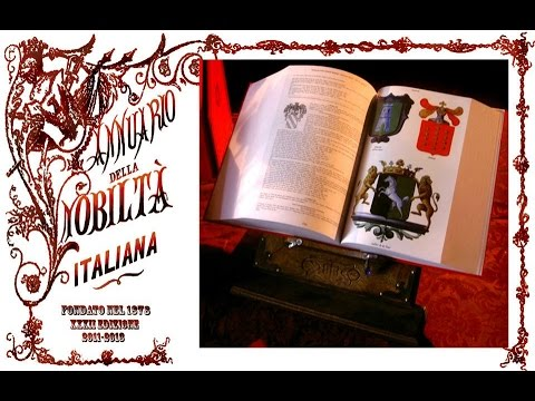 Yearbook of italian nobility - Annuario della Nobiltà Italiana - 2010