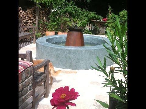 springbrunnen ohne pumpe doovi. Black Bedroom Furniture Sets. Home Design Ideas