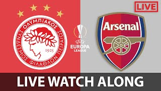 OLYMPIACOS VS ARSENAL - LIVE WATCH ALONG 🔴