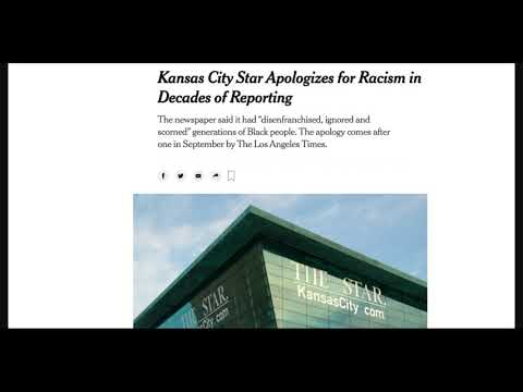 Kansas City Star Apologize To The Black Community