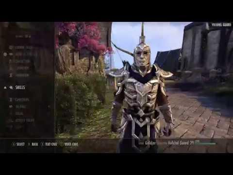 Elder Scrolls Online on Xbox One X with 4K Patch