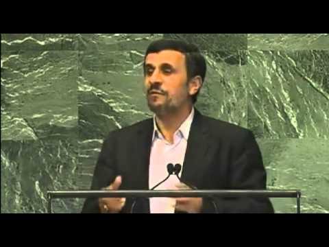 President of Iran Mahmoud Ahmadinejad - General Debate - September 26, 2012
