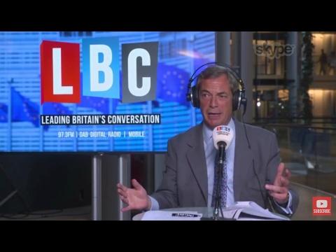 The Nigel Farage Show: Tim Farron's Lib Dem Manifesto. Live LBC - 17th May 2017