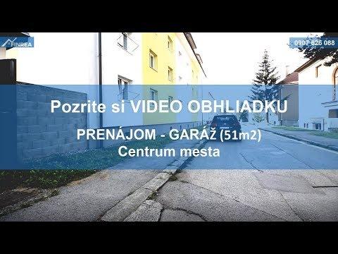 aca65bda44 EXKLUZÍVNE Garáž (51m2) na prenájom v centre mesta - YouTube