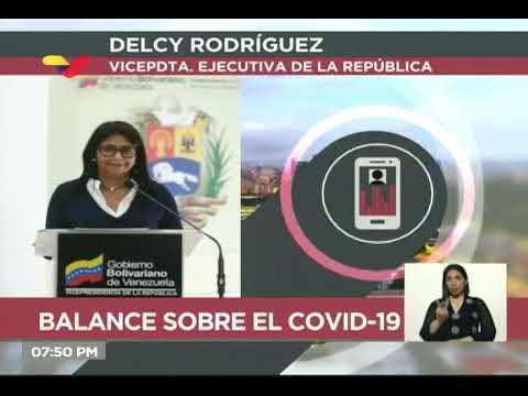 Reporte Coronavirus Venezuela, 03/06/2020: 133 casos y 2 fallecidos, informa Delcy Rodríguez