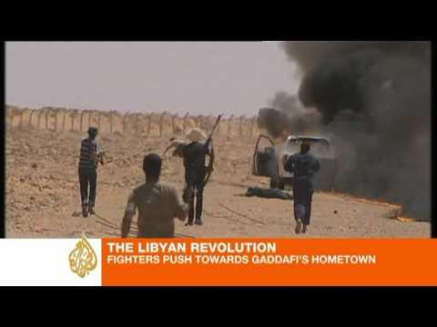 Gaddafi loyalists ambushed at Libya checkpoint