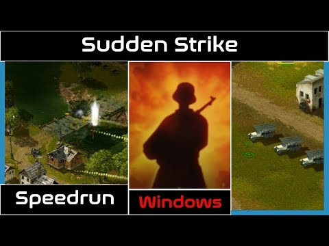 "(Speedrun) Sudden Strike Soviets Mission 01 ""Kiev"" in 04m 16s [PC] |"