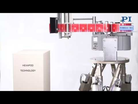 Hexapod Parallel Robots Automate Highly Precise Production
