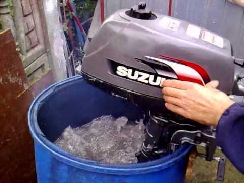 Video volvo penta 4 hp outboard motor 2 stroke dwusuw for Suzuki 2 5 hp 4 stroke outboard motor
