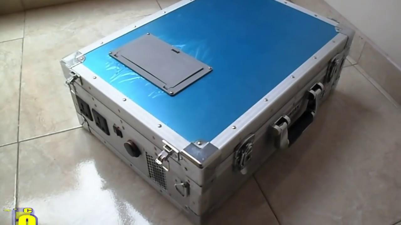Planta elctrica 450W porttil y ecolgica Con paneles