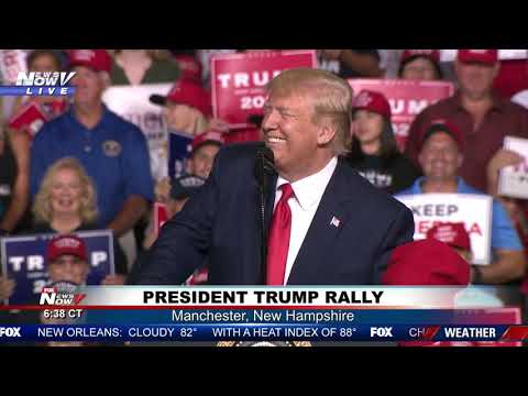 FULL RALLY: President Trump in Manchester, New Hampshire