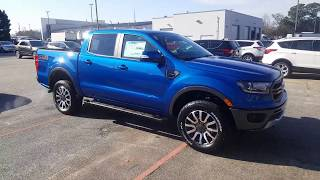2019 Ford Ranger Lariat - Lightning Blue - Walkaround