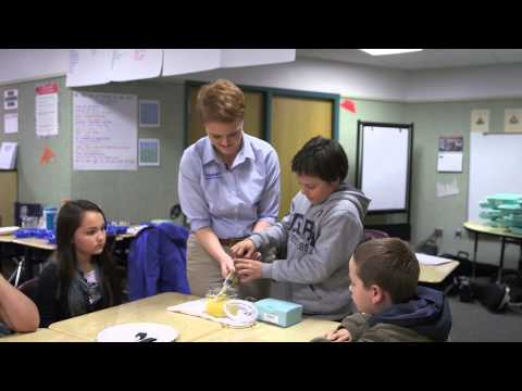 Toray Composites visits Frederickson Elementary