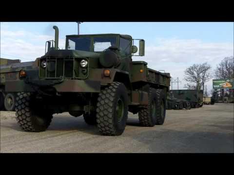 M813A1 5 Ton 6x6 Military Cargo Truck W/ Winch