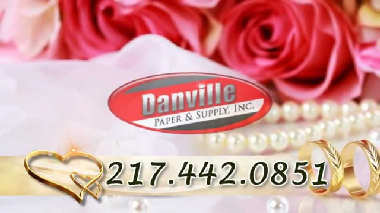 Wedding Supplies Danville, Illinois | Wedding Accessories and ...