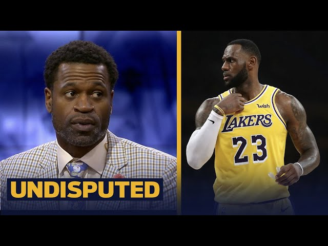 Stephen Jackson doesnt think LeBron missing the playoffs will taint his legacy | NBA | UNDISPUTED