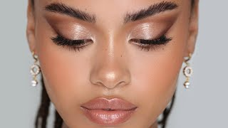 MY SIGNATURE GLOWY MAKEUP! | Hindash