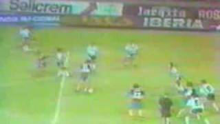 Gol de Latorre a Racing (Boca 2-Racing 1 22-01-91)