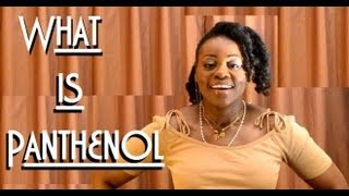 Cosmetic ingredients | What is Panthenol ?