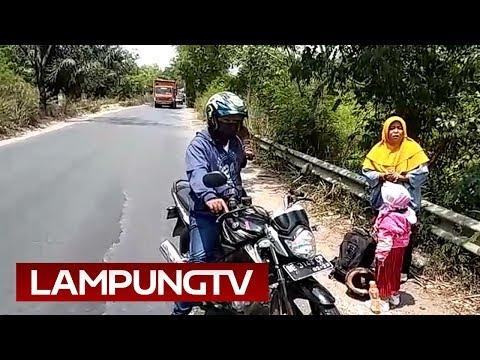 Dijambret Siang Bolong di Terusan Nunyai Lampung Tengah