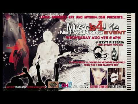 Music Is 4 Life Networking Event in Jacksonville, FL