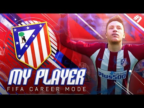 FIFA 17 My Player Career Mode - EP1 - New Season Begins!! Joining Atletico Madrid?! - 동영상