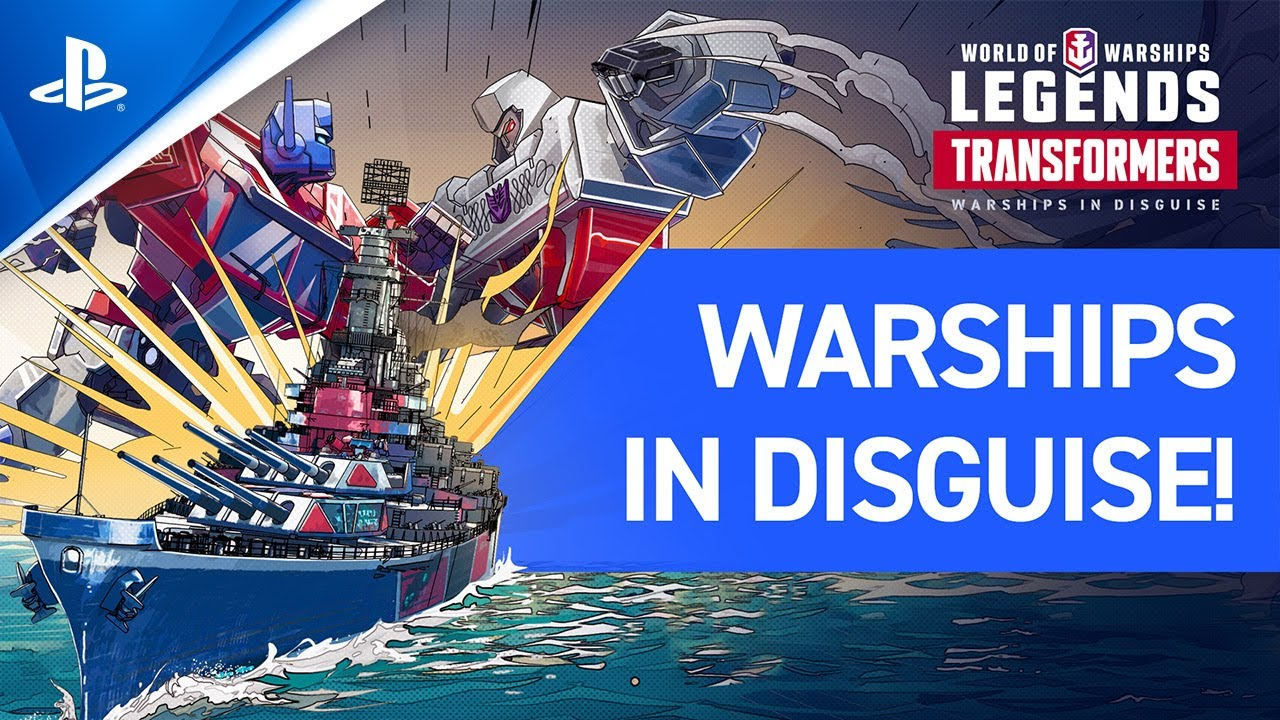 World of Warships: Legends - Transformers Trailer | PS4