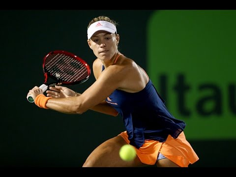 2017 Miami Open Second Round | Kerber vs Duan | WTA Highlights