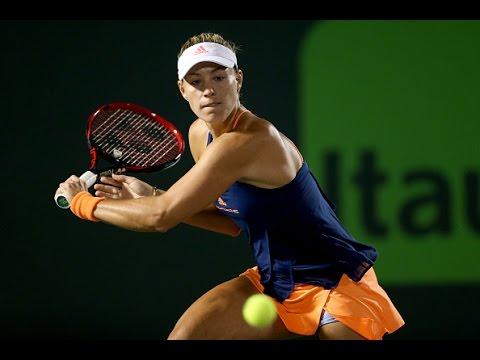 2017 Miami Open Second Round   Angelique Kerber vs Duan   WTA Highlights