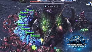 THE BEST HATCHERY SNIPE EVER! - Starcraft 2: Classic vs. Rogue