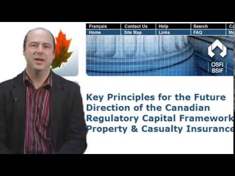 OSFI posts capital framework principles