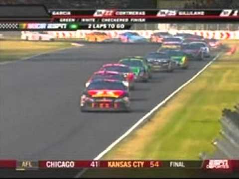Juan Pablo Montoya En La NASCAR Busch Series 2007 En Mexico