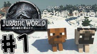 Minecraft Jurassic World 2 #1 We're BACK!