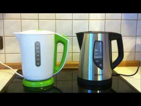 Produkttest: Elektronischer Wasserkocher von SEVERIN vs. 0-8-15 Wasserkocher