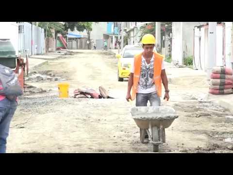 Microinformativo Yo Soy de Chone - Trabajos en calle La Paz
