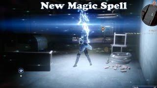 Final Fantasy XV - New Magic Spell