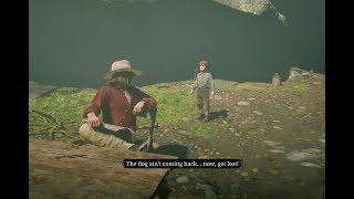 Micah Killed Jack's Dog Cain / Hidden Dialogue / Red Dead Redemption 2 Video