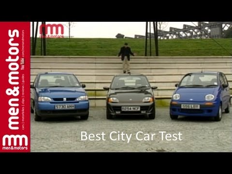 Best City Car Test: Seat Arosa, Fiat Seicento & Daewoo Matiz (1999)