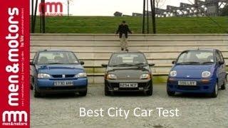 Best City Car Test: Seat Arosa, Fiat Seicento & Daewoo Matiz (1999)