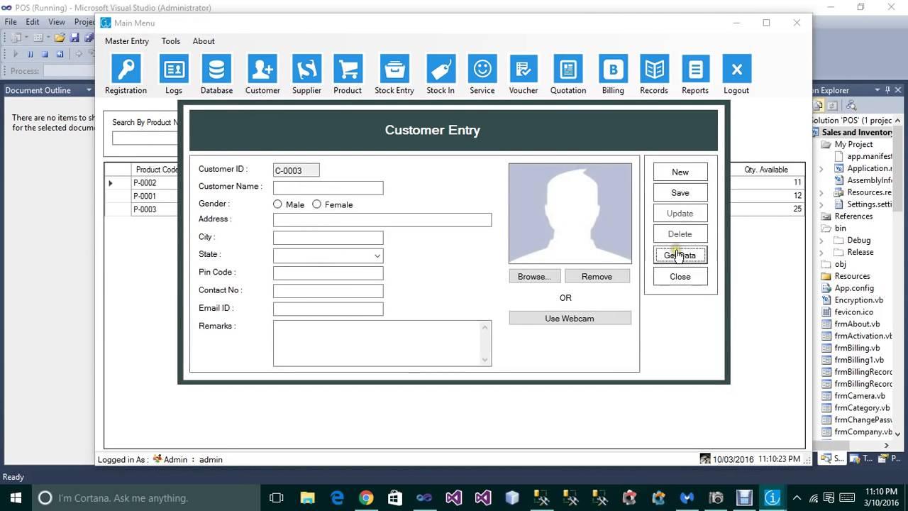Complete Inventory Management Software Vb Net Sql Server