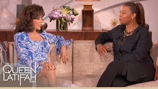 """Joan Collins Reveals """"Dynasty"""" Character Was Her Favorite To Play on The Queen Latifah Show"""